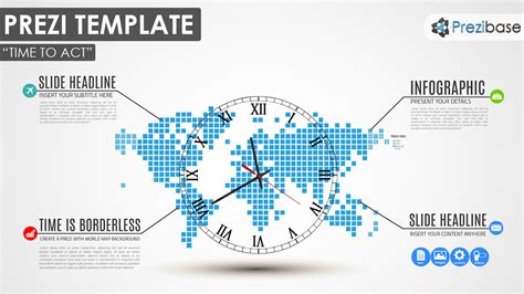 World Map Prezi Templates Prezibase Prezi Templates