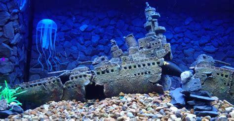 aquarium decorations unique ornaments  fish tanks