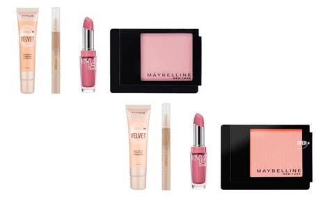 Maybelline Make Up Set maybelline four make up set groupon