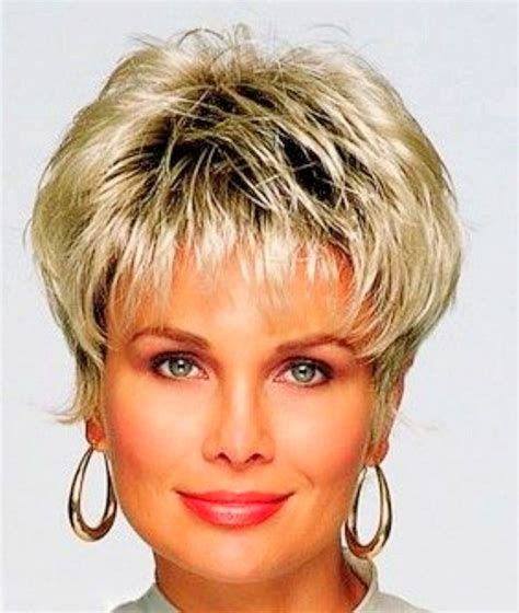 short hair styles for senior women with straight and thinning hair short hairstyles older women fade haircut