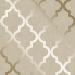 Henderson interiors camden trellis wallpaper cream gold
