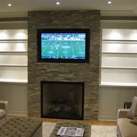 tv above fireplace contemporary fireplace designs with tv above ward log homes