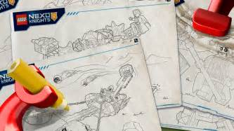 nexo knights products coloring pages activities nexo