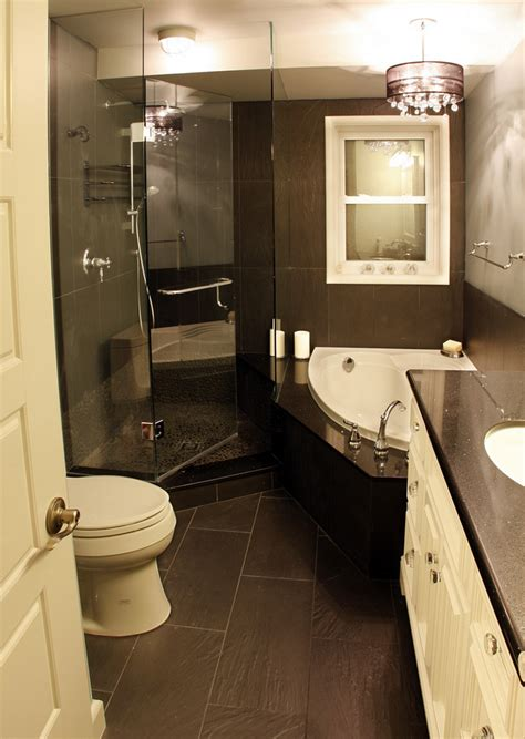 black and white small bathroom ideas black and white small shower themes with corner tub and