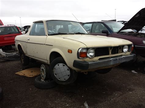 brat car junkyard find 1979 subaru brat the truth about cars