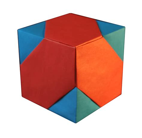Origami Cube Box - origami constructions july 2010