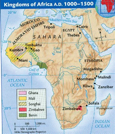 africa map 1500 kingdoms of africa ad 1000 1500 africa