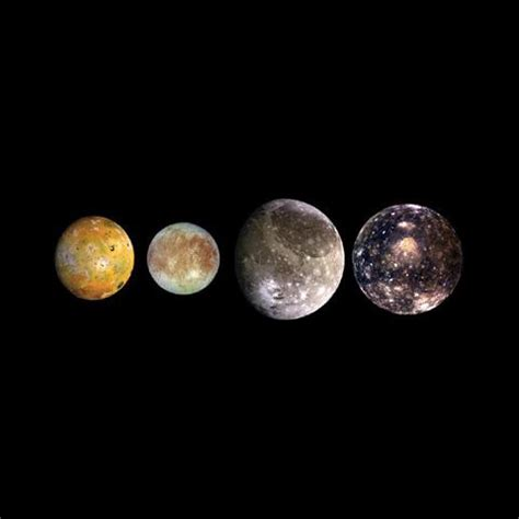 space images | the galilean satellites