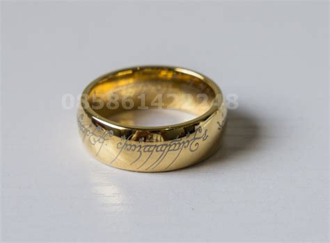 Replika Cincin Lord Of The Ring The One Ring realhero
