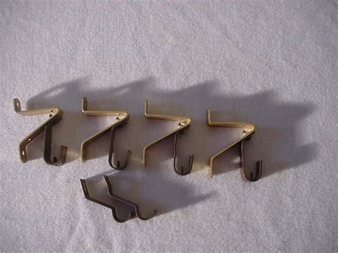 art deco curtain rods 4 antique vtg art deco curtain rods with center and end