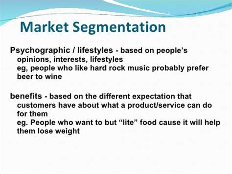 geographic pattern adalah market segmentation presentation