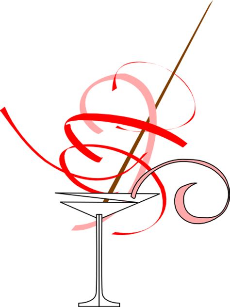 christmas martini png red martini glass png svg clip art for web download