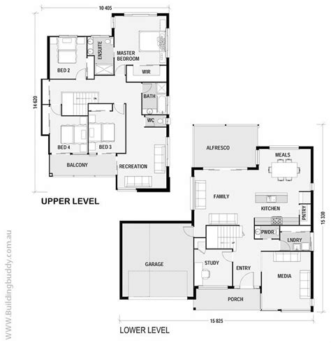 High End Home Plans by High Set House Plans Australia
