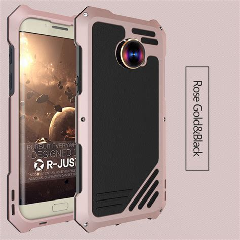 r just for samsung s7 g9300 armor metal aluminum waterproof cases for samsung galaxy