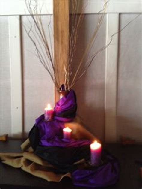 easter sunday service decorations lent decor idea i love the use of the purple and the