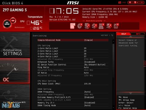 reset bios z97 gaming review msi z97 gaming 5 mainboard hexus net page 2