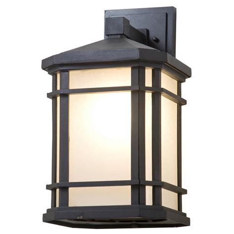 home decorators outdoor lighting home decorators collection 1 light sand black large