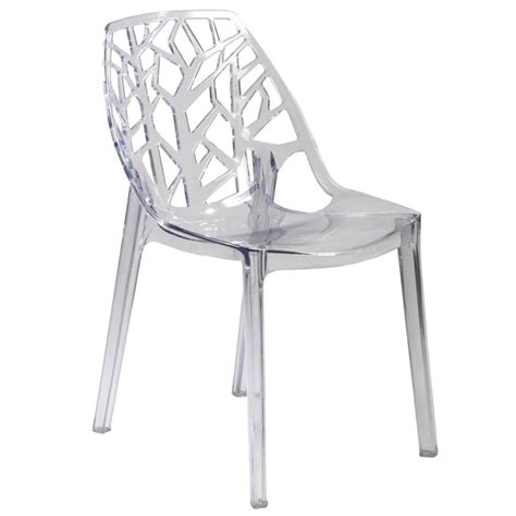 Clear Chair by Chair Clear Polycarbonate Casual Kitchen Chairs