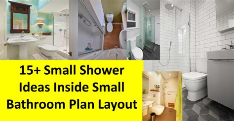 shower ideas for a small bathroom 15 small shower ideas inside small bathroom plan layout