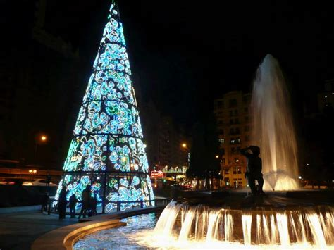 193 rbol de navidad en plaza de espa 241 a navidad 2009 en