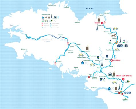le boat france h2olidays different regions for boating vacations in france