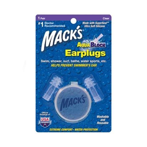 macks earplugs hearing protection buy ear plugs for buy macks aquablock ear plugs 1 pair