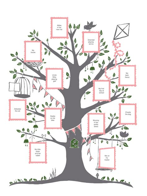 printable decorative family tree free printable family tree template search results