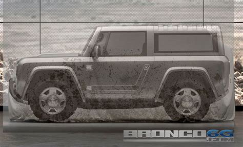 2020 Ford Bronco Official Pictures by Breaking 2020 21 Bronco Teased 2 4 Doors Hybrid