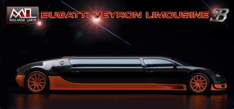 limousine bugatti bugatti veyron limousine