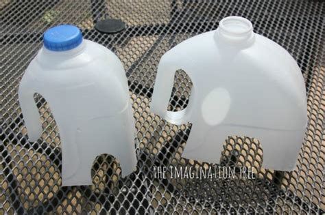 milk jug crafts for colorful diy milk jug elmer elephant craft kidsomania