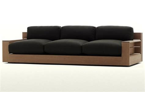 furniture wooden sofa wood leather sofa furniture plushemisphere