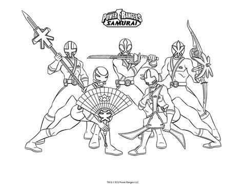 power rangers team coloring pages power rangers samurai da colorare powerrangers