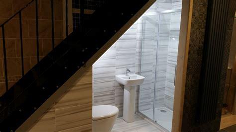 under stairs bathroom 1000 ideas about bathroom under stairs on pinterest