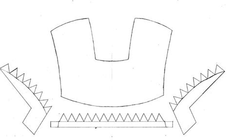 iron mask template how to make an iron mask