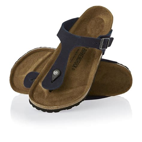 Sandals Navy birkenstock gizeh mf sandals navy free uk delivery