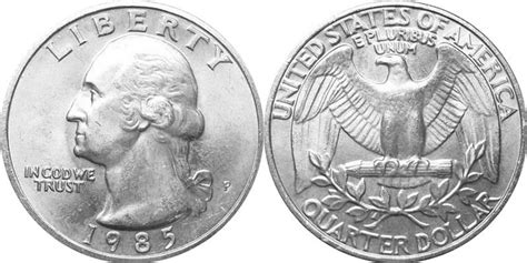 printable large quarter us 1932 1998 washington quarter history coin community