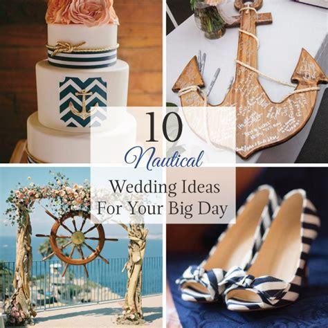 10 Nautical Wedding Ideas for your Big Day   LinenTablecloth