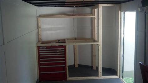 58 v nose trailer cabinets aluminum trailer