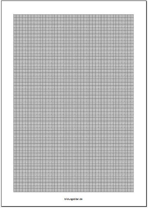 Vorlage Word Millimeterpapier Rechnen