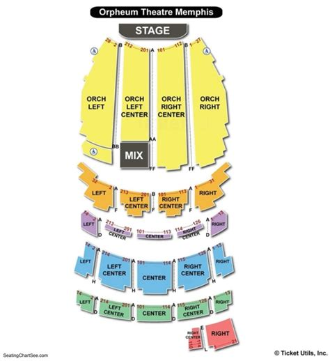 orpheum theatre vancouver seating chart brokeasshome com orpheum theater seating memphis tn brokeasshome com