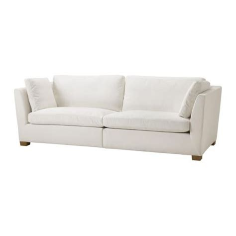 Ikea Stockholm 3 5 Seat Sofa Slipcover Cover Rostanga White Sofa