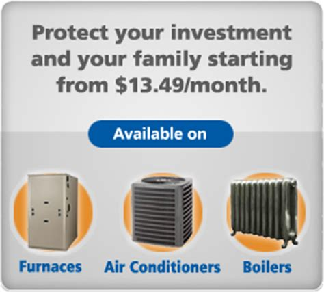 protection plans for furnaces and air conditioners ottawa furnace and air conditioner repair services
