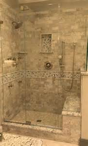 tile walk in shower design kenwood kitchens in