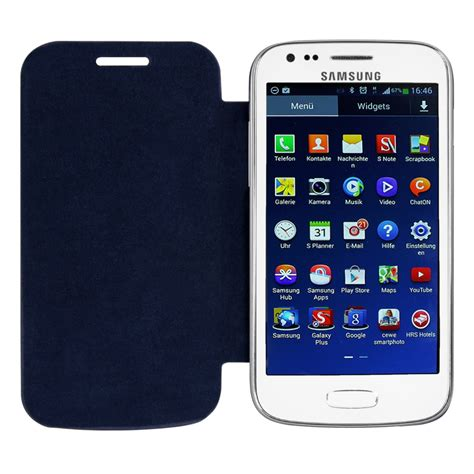 Samsung Ace 3 S7275 kwmobile flip cover for samsung galaxy ace 3 s7270 s7275 slim back shell