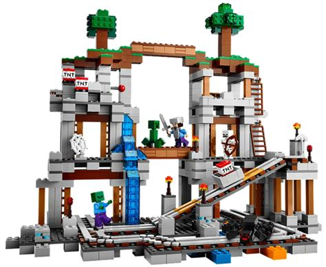 Lego 21118 Minecraft The Mine new lego minecraft sets available now