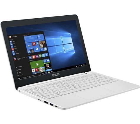asus vivobook e12 11 6 quot laptop white deals pc world