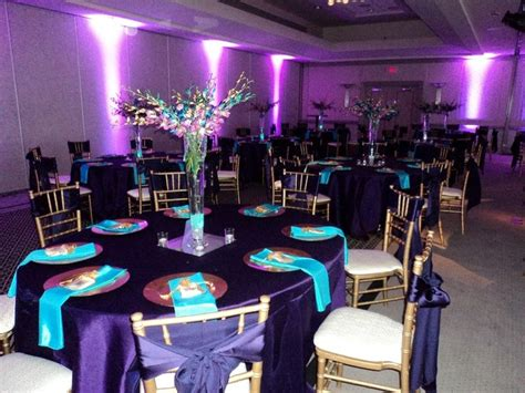 purple and turquoise wedding reception 25 teal wedding decorations ideas on