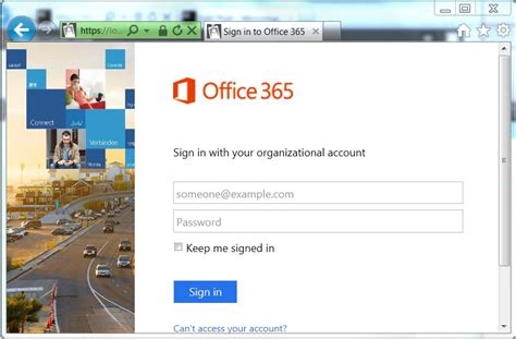 Microsoft Login Where Microsoft Account And Organisational Account Meet