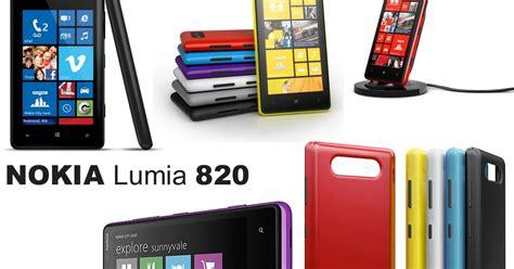 Nokia Lumia Lengkap harga hp nokia lumia 820 spesifikasi lengkap