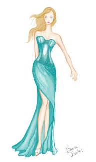 fashion sketch by azuraeskye on deviantart
